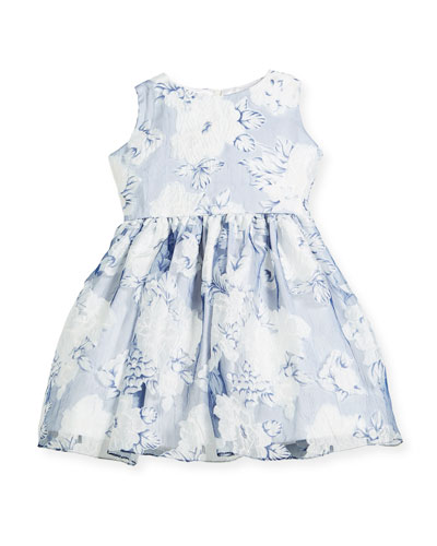 Camellias Organza Sleeveless Dress, Size 2-6  and Matching Items
