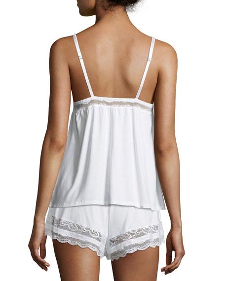 Anouk Lace-Trim Lounge Camisole Top