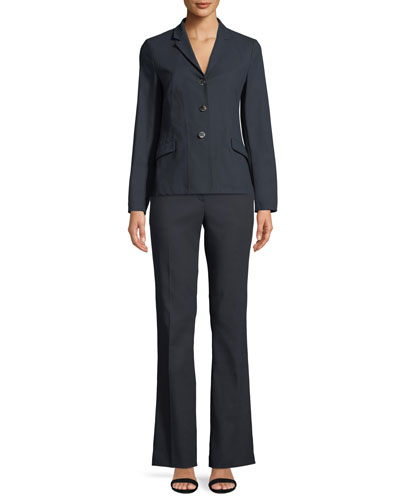 Tsegana Boot-cut Cotton Twill Pants and Matching Items