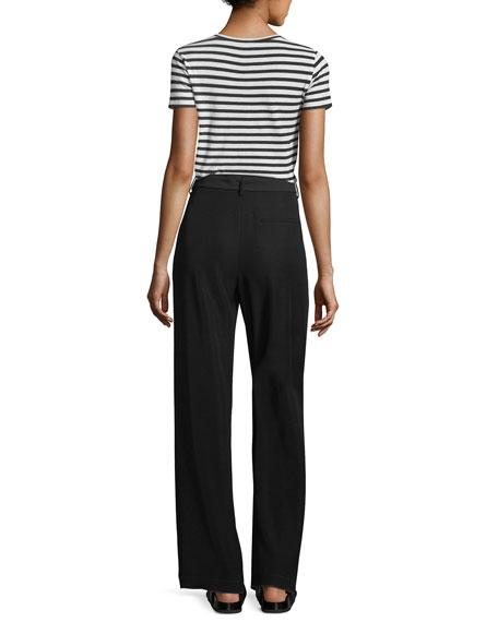 Bengal Stripe Essential Cotton T-Shirt
