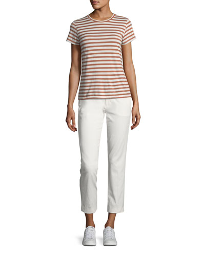 Bengal Stripe Essential Cotton T-Shirt and Matching Items