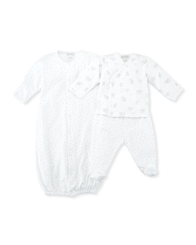 Sweetest Dreams Pima Convertible Sleep Gown, Size Newborn-S  and Matching Items