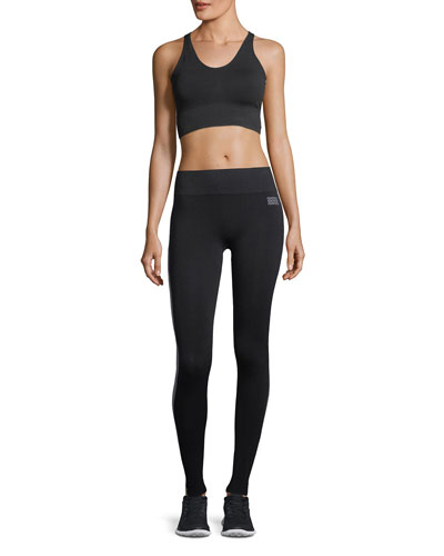 Hi-Tech Side-Stripe Seamless Performance Leggings and Matching Items