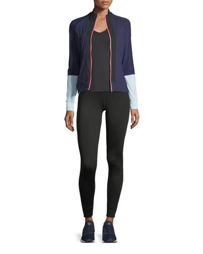 Featherweight Zip-Front Colorblocked Performance Jacket and Matching Items