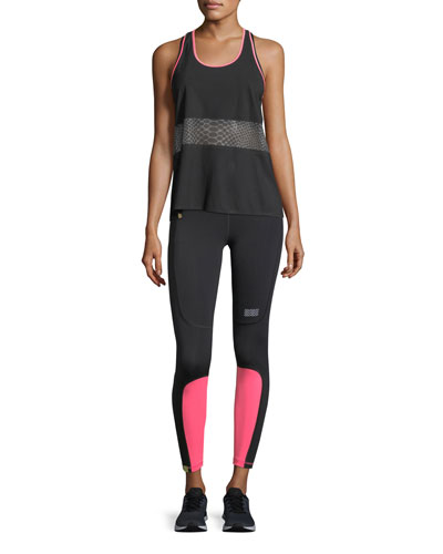 Scoop-Neck Racerback Mesh Tank and Matching Items