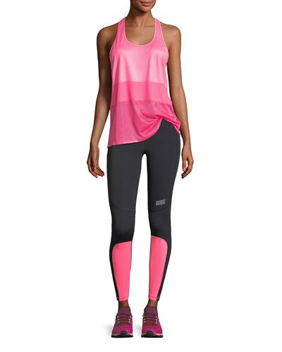 Scoop-Neck Racerback Mesh Jersey Performance Tank and Matching Items