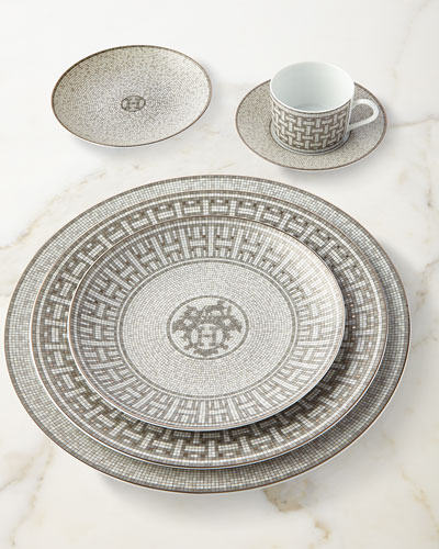 Mosaique au 24 Platinum Cup & Saucer and Matching Items