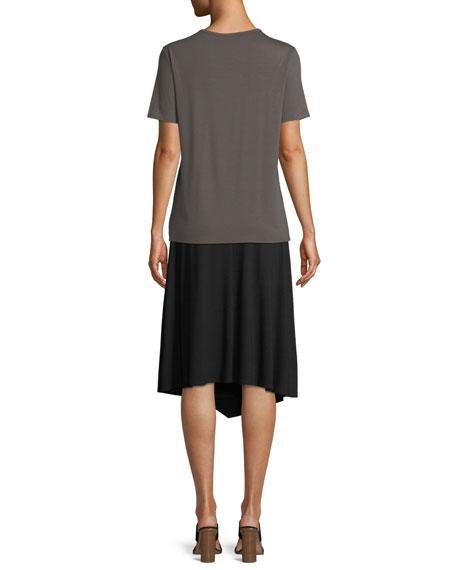 Soft Jersey Easy V-Neck T-Shirt