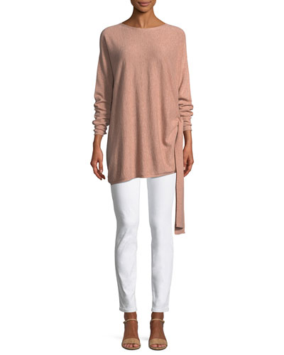 Cashmere Side-Tie Tunic and Matching Items