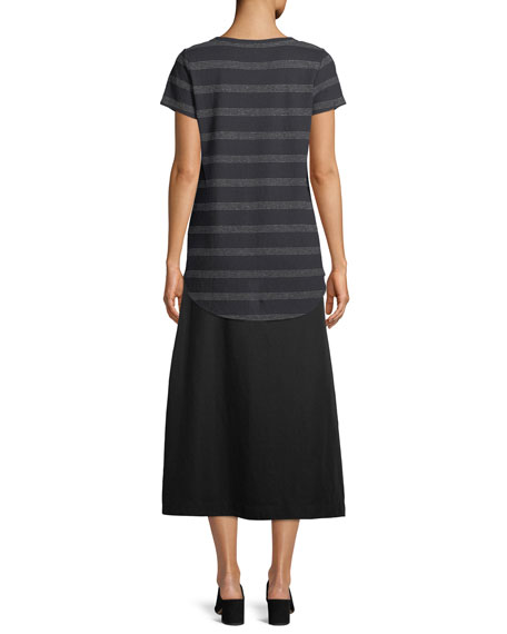 Tencel® Linen Midi Skirt