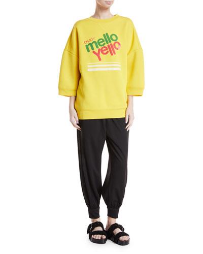 Mello Yello™ Crewneck Pullover Sweatshirt and Matching Items