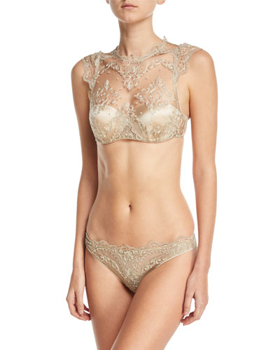 Mystere de Minuit Molded Balconette Tank Bra and Matching Items