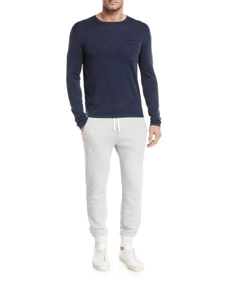 Chest-Pocket Long-Sleeve T-Shirt
