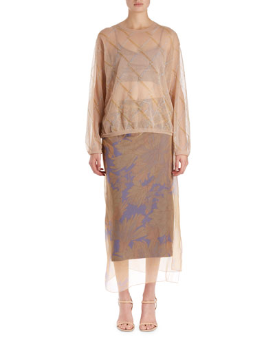 Javier Argyle Voile Top and Matching Items