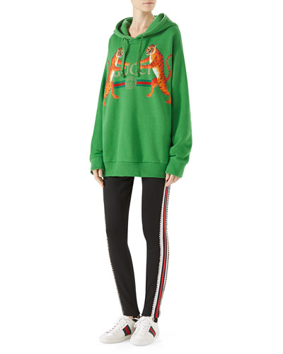 Gucci Logo Hooded Sweatshirt and Matching Items
