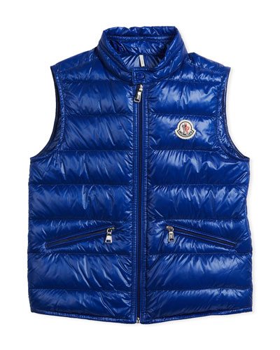 Gui Down Puffer Vest, Blue, Size 4-6 and Matching Items
