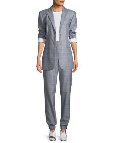 Cooper Menswear Check Cutout Blazer and Matching Items