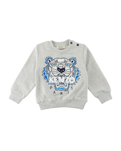 Tiger Embroidered Sweater, Size 12-18 Months and Matching Items