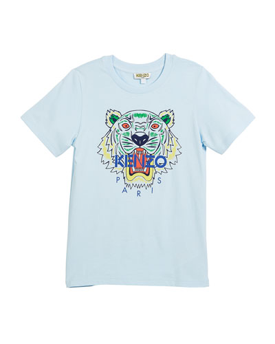 Short-Sleeve Logo Tiger Face T-Shirt, Size 2-6  and Matching Items