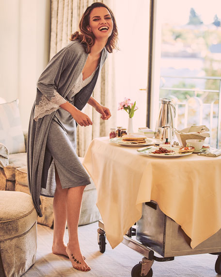 Luxe Shangri-La Knit Robe