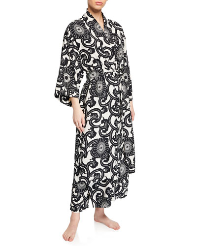 Silk Road Graphic-Print Nightgown and Matching Items