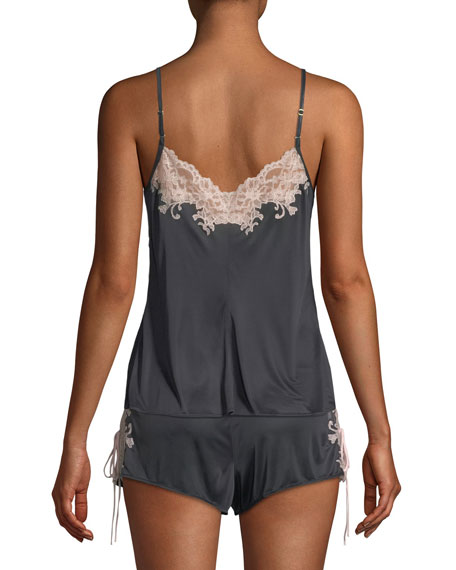 Harlow Lace-Trim Camisole