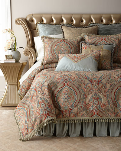 Kristi Paisley King Duvet  and Matching Items