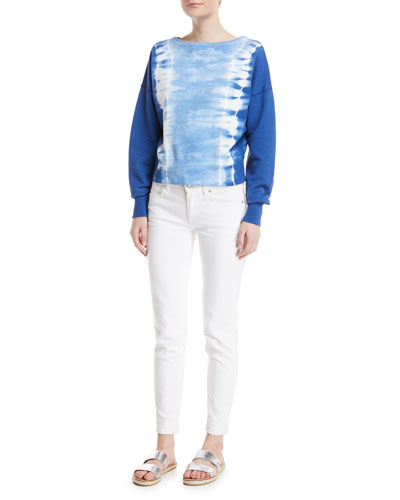 Crewneck Tie-Dye Sweatshirt and Matching Items