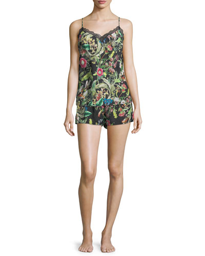 Fleurs De Jungle Camisole and Matching Items