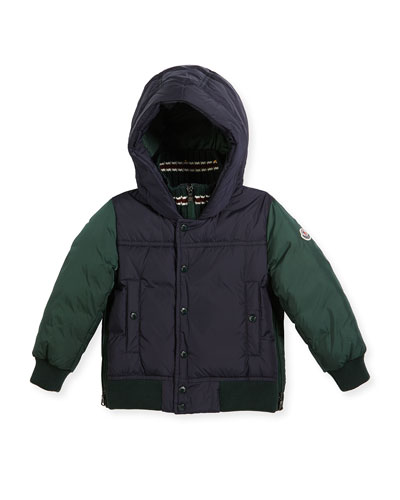 Luke Two-Tone Hooded Jacket, Size 4-6  and Matching Items