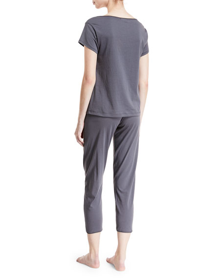 Olena Short-Sleeve Lounge T-Shirt