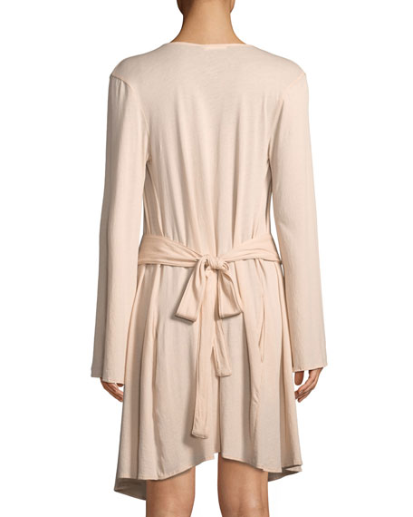 Karin Cotton Wrap Robe
