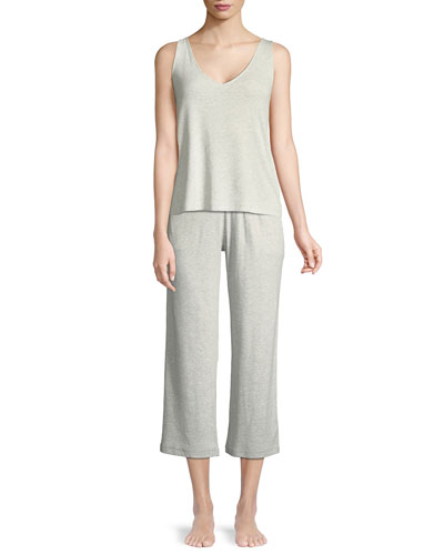 Noelle Cropped Lounge Pants and Matching Items