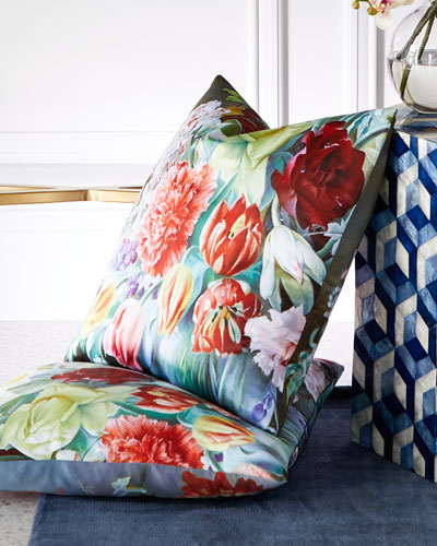 Regal Carnation Pillow and Matching Items