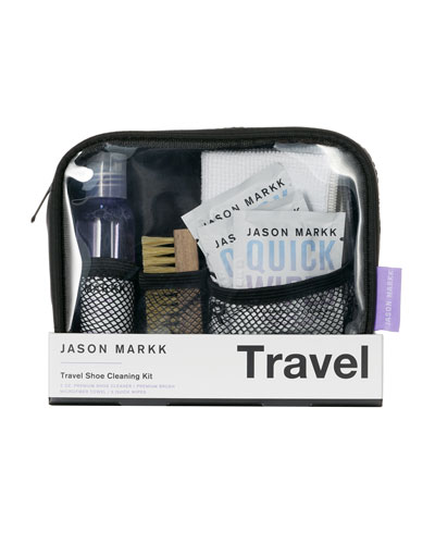 Travel Shoe Cleaning Kit and Matching Items