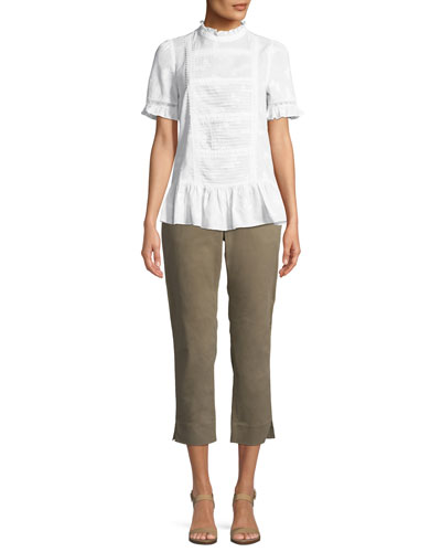 slim-straight chino pants and Matching Items