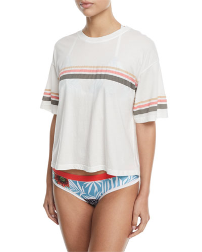 Rocki Triangle Printed Swim Top and Matching Items