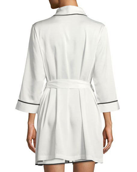 mrs. satin bridal robe