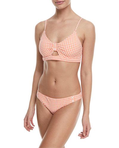 Enchantress Capri Gingham Swim Top and Matching Items