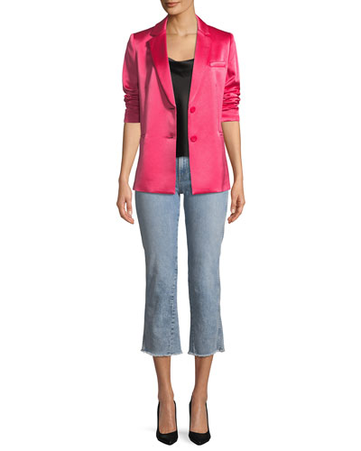 Bergen One-Button Relaxed Blazer and Matching Items