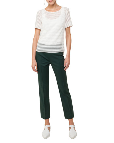 Franca Cropped Techno Pants  and Matching Items