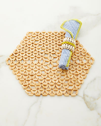Cotton Seersucker Napkin and Matching Items