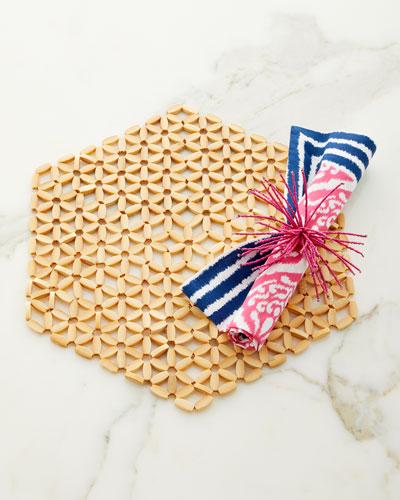 Ethnic Ikat Napkin  and Matching Items