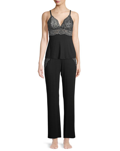 Pret-a-Porter Lace-Trim Camisole and Matching Items