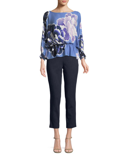 New Poet Floral Peplum Blouse and Matching Items