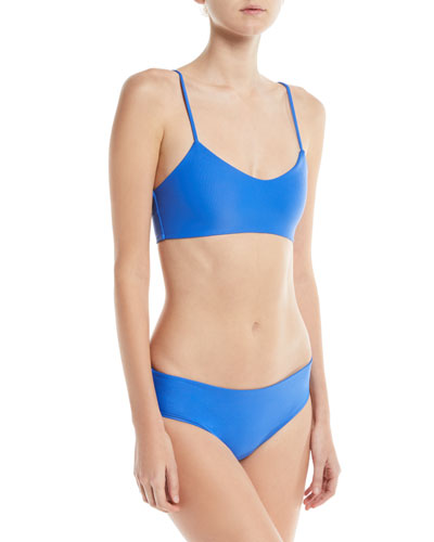 Cruz Bay Low-Rise Hipster Solid Swim Bottoms and Matching Items