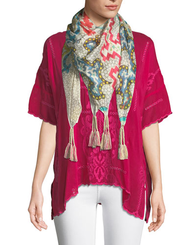 Bobitt Silk Scarf  and Matching Items