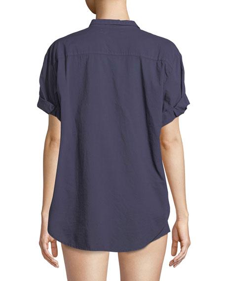 Channing Cotton Lounge Shirt