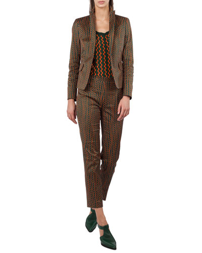 Franca Geometric-Print Pants and Matching Items
