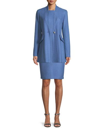 Sarga Knit Twill Jacket  and Matching Items